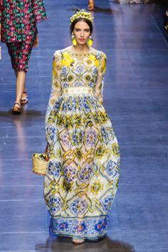 Dolce & Gabbana / Spring 2016 Ready-to-Wear