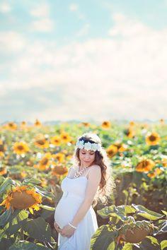 Sunflower field Maternity
