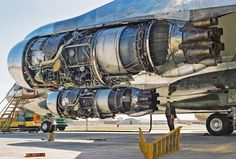 """ralfmaximus: """" elevenacres: """" Engine porn """" Now, take off the other cowling please… ohgodyes. Aircraft Parts, Aircraft Engine, Rocket Engine, Jet Engine, Mechanical Design, Mechanical Engineering, Jets, Boeing 707, Boeing Aircraft"""