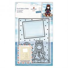 Docrafts - Santoro's Gorjuss Cut & Emboss Folder - Little Fishes Little Fish, Little My, Stocking Fillers For Her, Crafts To Do, Paper Crafts, Embossed Paper, Stamp Collecting, Embossing Folder, Craft Projects