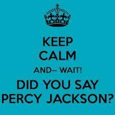 Percy Jackson....OH YA!