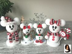 Disney is my love language on Our snow mouse family Disney Christmas Crafts, Disney Diy Crafts, Disney Christmas Decorations, Mickey Christmas, Disney Ornaments, Diy Christmas Ornaments, Simple Christmas, Holiday Crafts, Spring Crafts