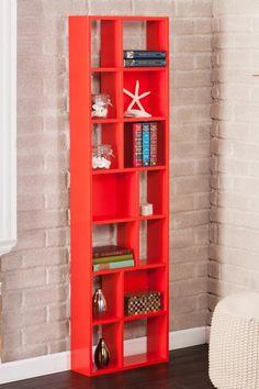 Higzy Red-Orange Shelf