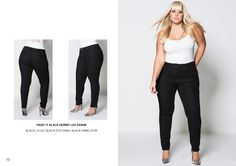 www.harlowstore.com Fall Winter, Autumn, Australian Fashion, Fashion Lookbook, Plus Size, Denim, Pants, Collection, Black