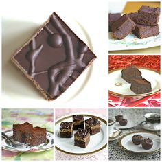 A brownie for every taste and type of diet!
