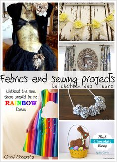 Isabelle Thornton Le Chateau des Fleurs: Fabrics and sewing projects