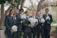 Fun groomsmen picture