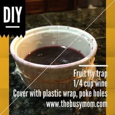 homemade fruit fly trap healthy fruit smoothie ingredients