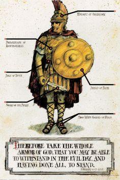 biblical graphics armor of God | Armor of God