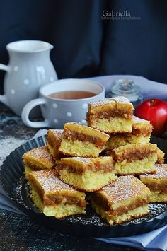 Kavart almás Ital Food, Hungarian Recipes, Sweet Cakes, Easy Cooking, Cake Cookies, French Toast, Sweet Tooth, Food And Drink, Sweets