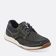 Allston Edge Olive Nubuck - Mens Wide Width Shoes - Clarks® Shoes