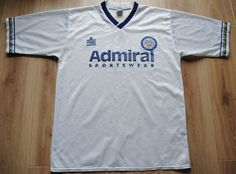 LEEDS UNITED ENGLAND 1992 1993 HOME FOOTBALL SHIRT ADMIRAL VINTAGE Puma  Shirts 39d70f97d