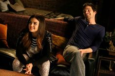How cute are these two?! #PLL #Ezria