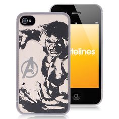 Premium Hulk iPhone 4 Metal Case - Avengers Hard Case For Apple iPhone 4 4S By Cellz  $4.58 #iPhone4 #Cases #back #covers #awesome #cheap #free #shipping #avengers #superman #batman #spiderman #revengers #phone #accessories #iPhone #smartphones Iphone 4 Cases, Iphone 4s, Apple Iphone, Batman Spiderman, Superman, Cheap Iphones, Hulk, Phone Accessories, Avengers