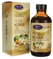 Pure Kukui Oil  Swanson Health Products http://www.swansonvitamins.com/life-flo-pure-kukui-oil-4-fl-oz-liquid ----- I plan to use this on my skin -----