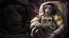 General 1920x1080 monkeys space