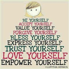 Self care - it IS important                                                                                                                                                      More