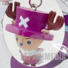 Dragon Ball Z x One Piece Figure Strap Chopper Man x Piccolo JAPAN ANIME