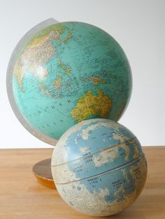Everyone knows I have a map/globe obsession... :)