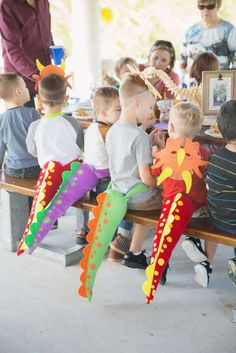 Dinosaur Party Birthday Party Ideas Photo 6 of 30 Catch My Party Dinasour Party, Dinasour Birthday, Dinosaur Birthday Party, 4th Birthday Parties, Birthday Fun, Birthday Ideas, Children Birthday Party Ideas, Festa Jurassic Park, Festa Party