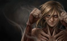 Jxbp, Shingeki no Kyojin, Female Titan, Titan (Shingeki no Kyojin), Realistic, Fighting
