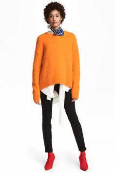 Elastické kalhoty High waist - Černá - ŽENY | H&M CZ 1