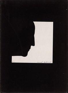 Duchamp. Self Portrait in Profile.