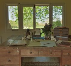 Inside Virginia Woolf's 1934 writing lodge