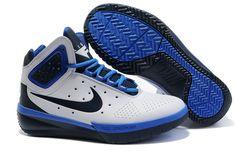 Nike Basketball White-blue Black 415141 007