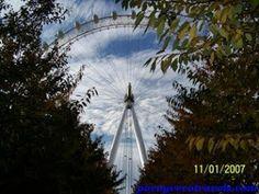 La noria de 135 metros London Eye #londres http://www.pacoyverotravels.com/2013/10/london-eye.html