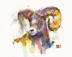 Bighorn sheep by Dean Crouser