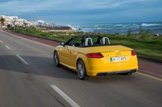 test drive of AUDI TT and TTS roadsters on the island of mallorca