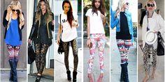Cómo usar leggings sin perder la elegancia