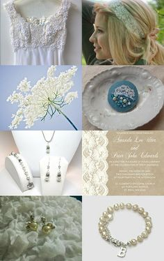 Pearls and Lace by Susan Bolte on Etsy--Pinned with TreasuryPin.com