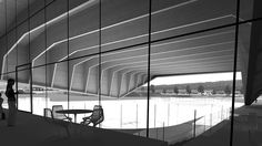 Hockey stadium Bruneck - Peter Pichler Architecture