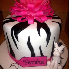 Porshas' 18th Birthday cake.
