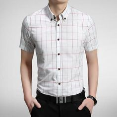 9b2e84165aaf The new spring summer 2018 fashion grid Man han edition cultivate one s  moralityliligla. Casual ...
