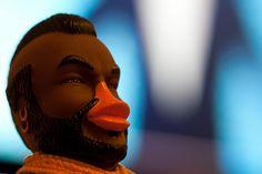 Mr T rubber duck