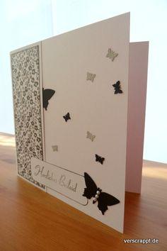 Trauerkarte-Trauer-Karte-Beileidskarte-anteilname-Beileid-schwarz-weiß-stempel-quadratisch-aufgestellt-Schmetterling