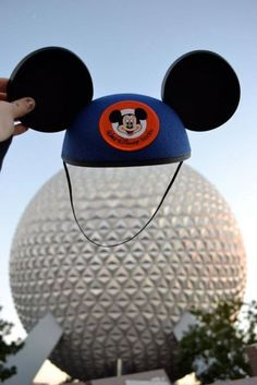 Repinned: Photo opp: Put Mickey ears over Spaceship Earth at Epcot. #DestinationSummer #Kohls