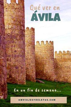 Qué ver en Ávila: 4 paseos para viajar en el tiempo. #Avila #Spain #España Slow Travel, Travel Tips, Madrid, Travel Around The World, Around The Worlds, Freedom Travel, Destinations, Excursion, Europe