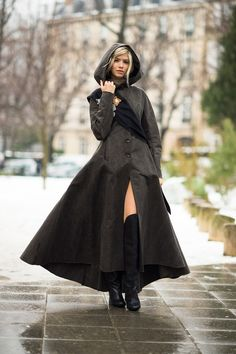 If I could wear a cloak and not be completely ridiculed, I so would. I get so cold. And. It's super awesome anyways.
