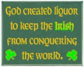 does that mean that i can conquer the world because i dont drink often? :0