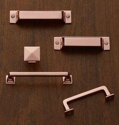 Mission Drawer Pull - Copper | Rejuvenation