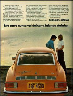 Anúncio Karman Ghia TC - 1971