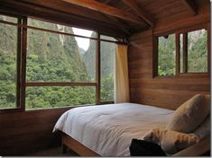 Staying in the Treehouse Room at Rupawasi Eco Lodge in Aguas Calientes, Peru