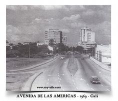 Avenida de las Américas de la ciudad de Cali - 1969