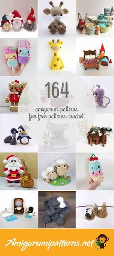 Amigurumi Patterns For Free-patterns-crochet