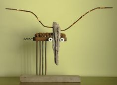 "Saatchi Online Artist: Oriol Cabrero; Mixed Media Sculpture ""moose"""
