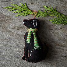 Christmas Ornaments , Felt Christmas Ornaments & Animal Ornaments   west elm @Amy Ingham
